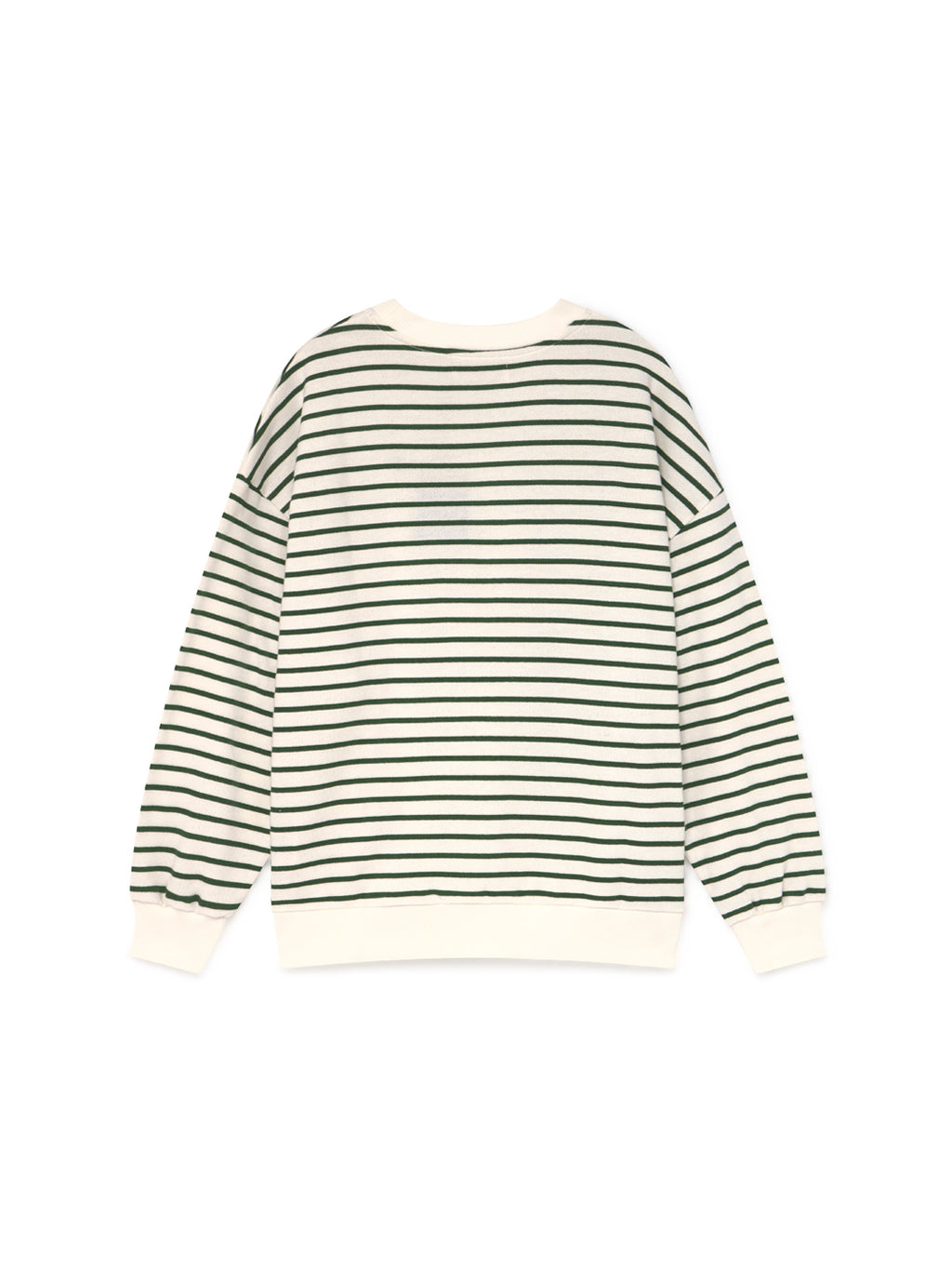 TWOTHIRDS Womens Sweat: Japon - Green back
