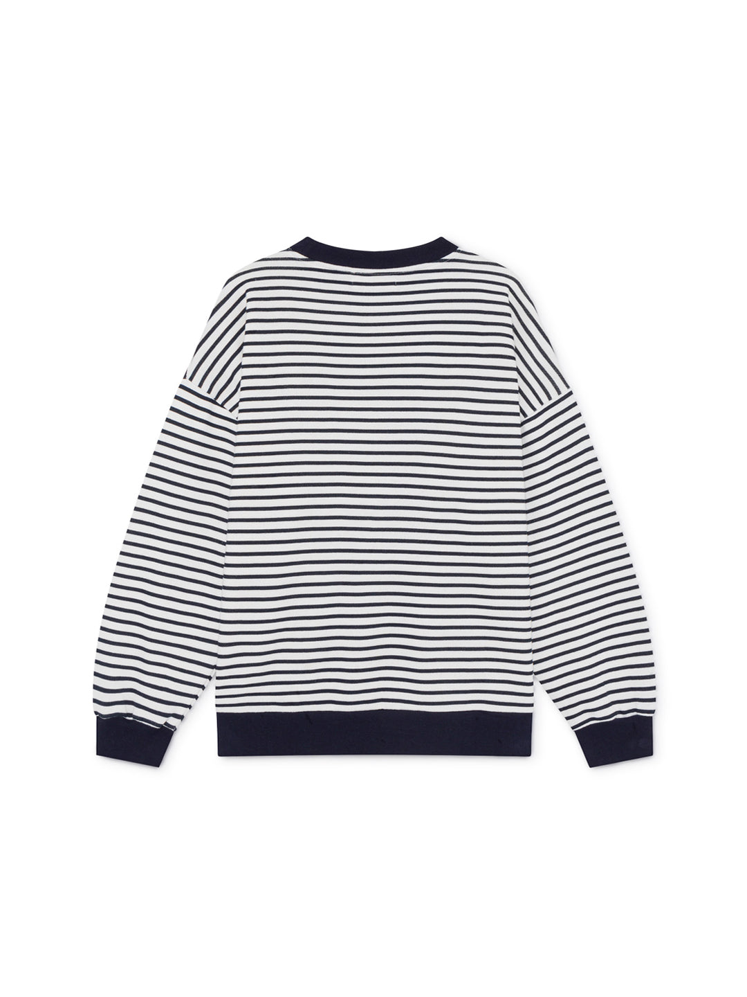 TWOTHIRDS Womens Sweat: Japon - Navy back