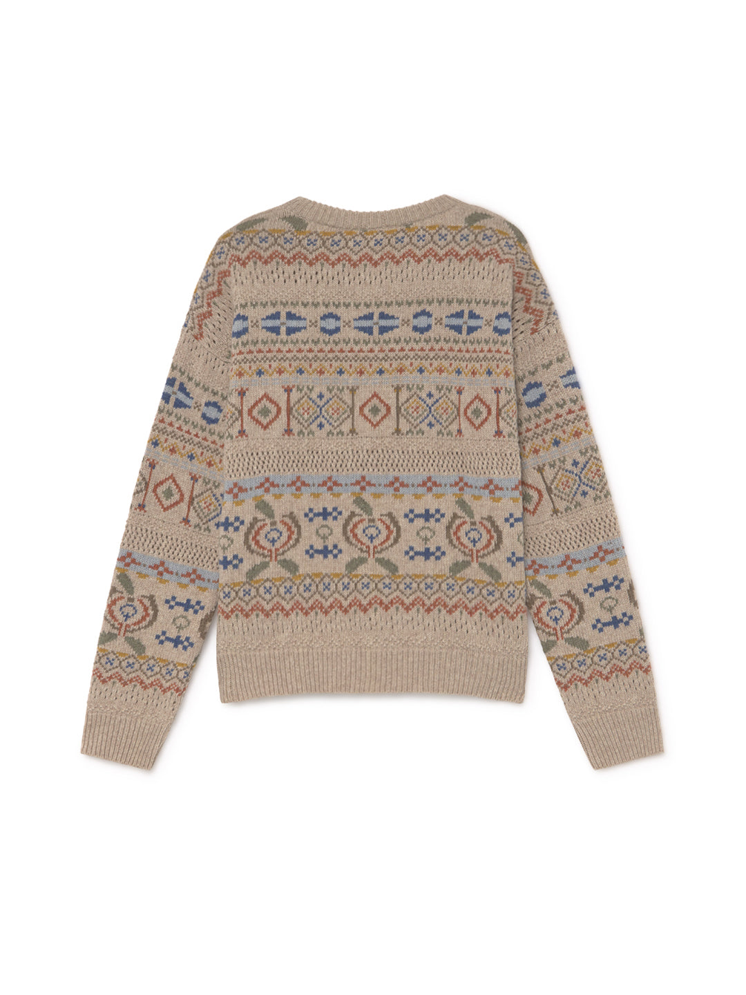 TWOTHIRDS Womens Knit: Java - Jacquard back