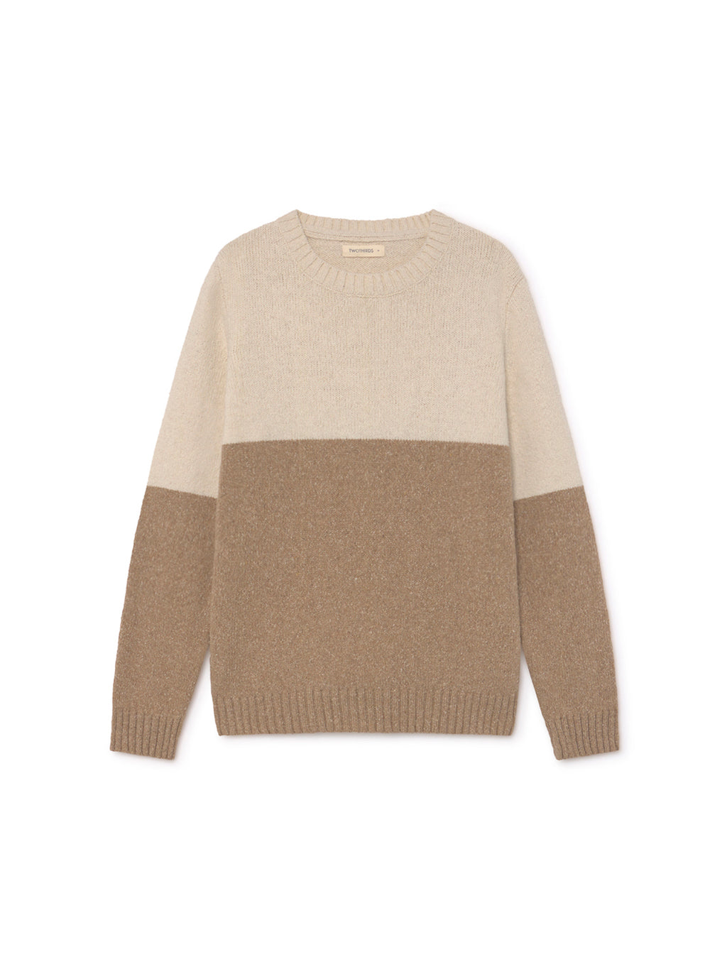 TWOTHIRDS Mens Knit: Jolo - Beige front