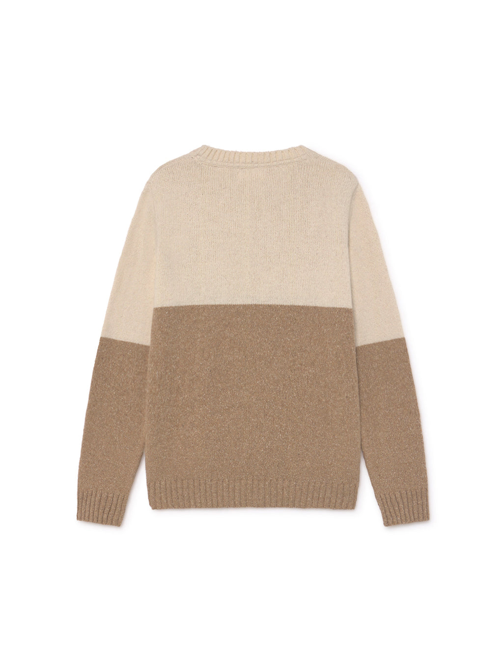 TWOTHIRDS Mens Knit: Jolo - Beige back
