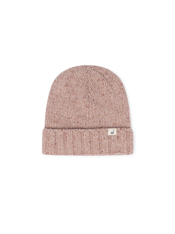 TWOTHIRDS Headwear: Jurma Beanie - Dusty Pink front