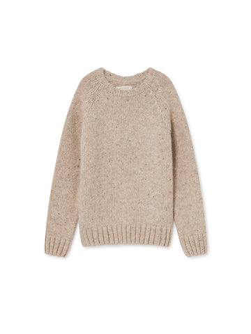 TWOTHIRDS Womens Knit: Jurma - Beige front