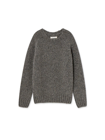 TWOTHIRDS Womens Knit: Jurma - Stone Grey front