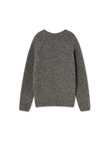 TWOTHIRDS Womens Knit: Jurma - Stone Grey back