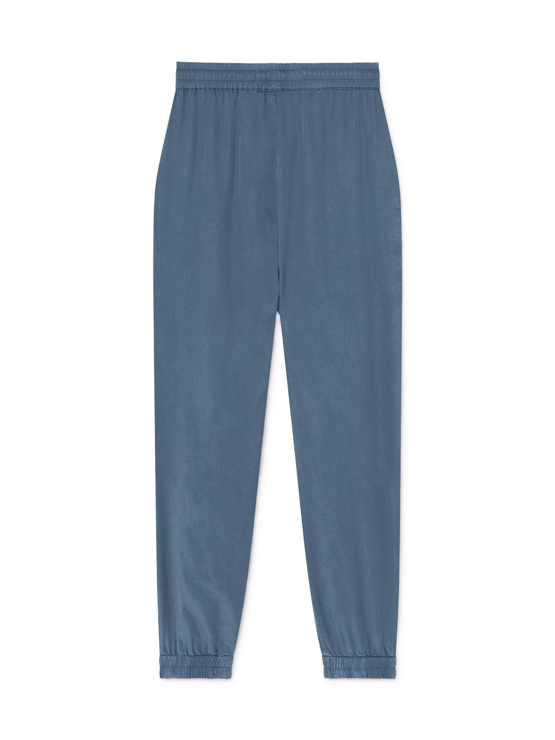 TWOTHIRDS Womens Pants: Kaafu - China Blue back