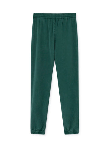TWOTHIRDS Womens Pants: Kaafu - Dark Green back
