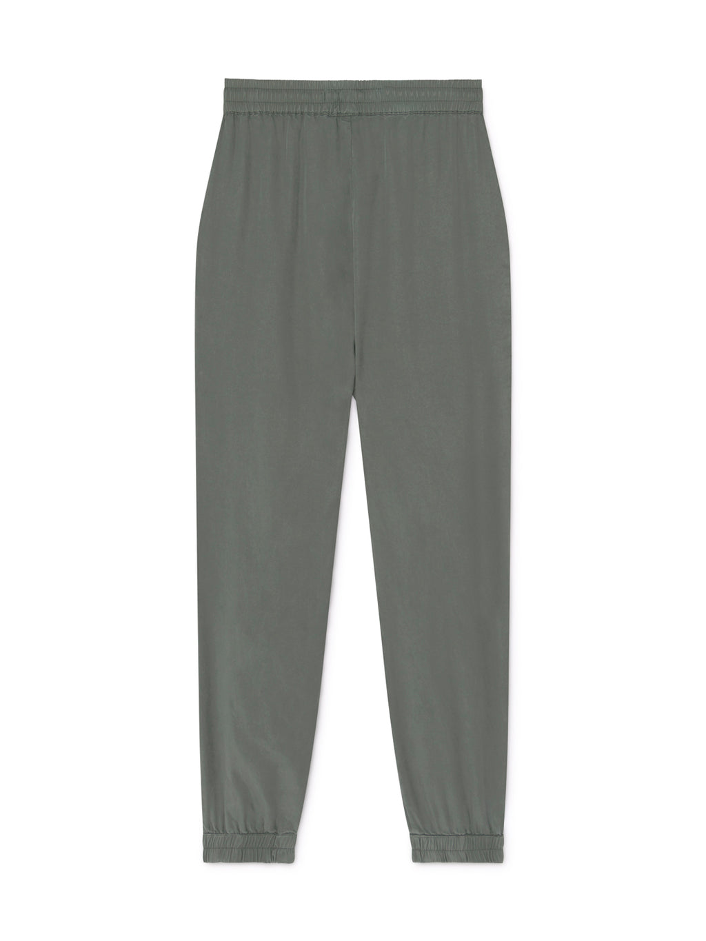 TWOTHIRDS Womens Pants: Kaafu - Washed Green back