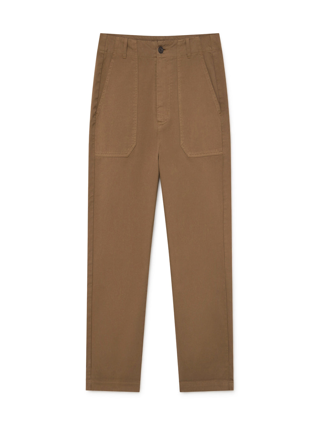 TWOTHIRDS Womens Pants: Kent - Pecan front