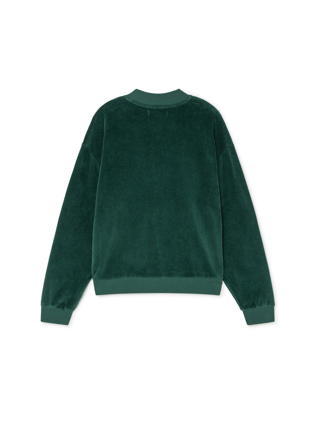 TWOTHIRDS Sweat: Kerguelen - Trekking Green