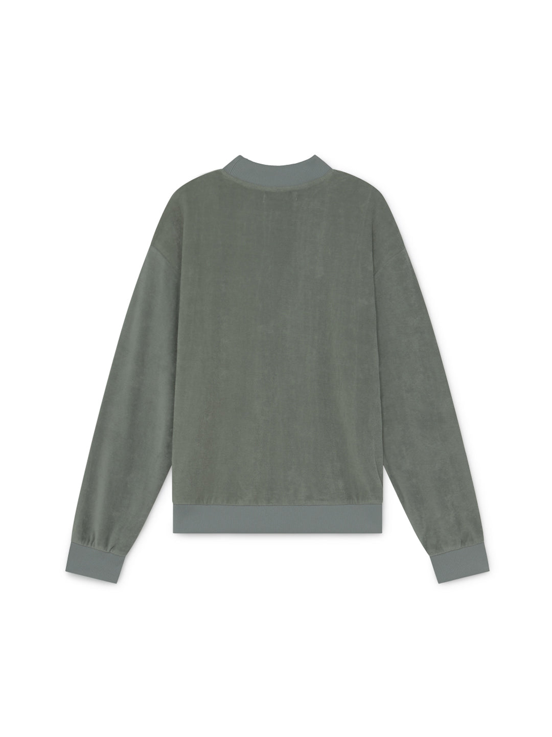 TWOTHIRDS Sweat: Kerguelen - Washed Green