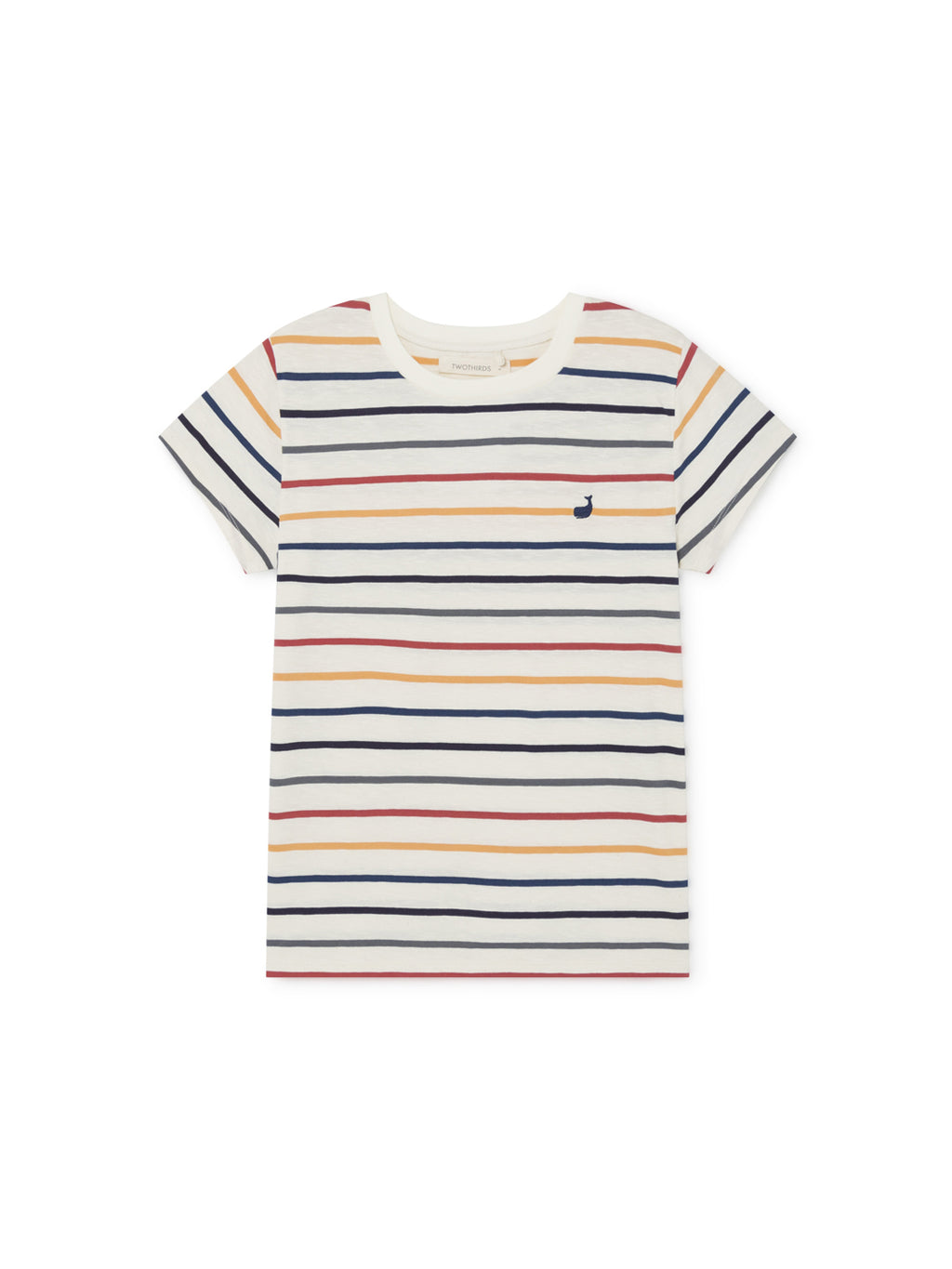 TWOTHIRDS Womens Tee: Kowama - Stripes front