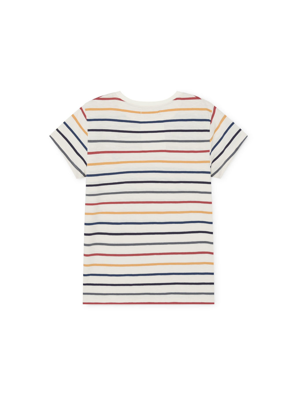 TWOTHIRDS Womens Tee: Kowama - Stripes back