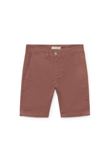 TWOTHIRDS Mens Shorts: La Nave - Cedar Wood front