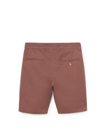 TWOTHIRDS Mens Shorts: La Nave - Cedar Wood back