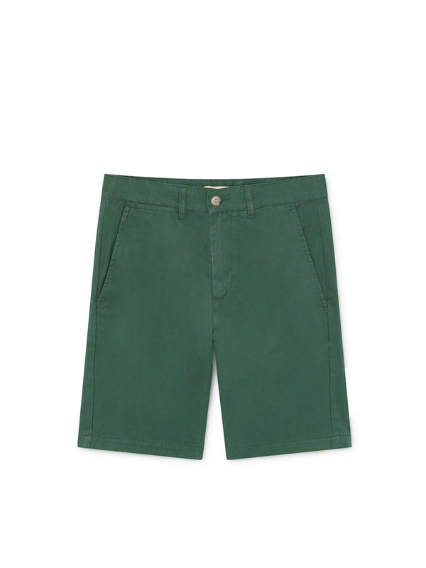 TWOTHIRDS Mens Shorts: La Nave - Trekking Green front