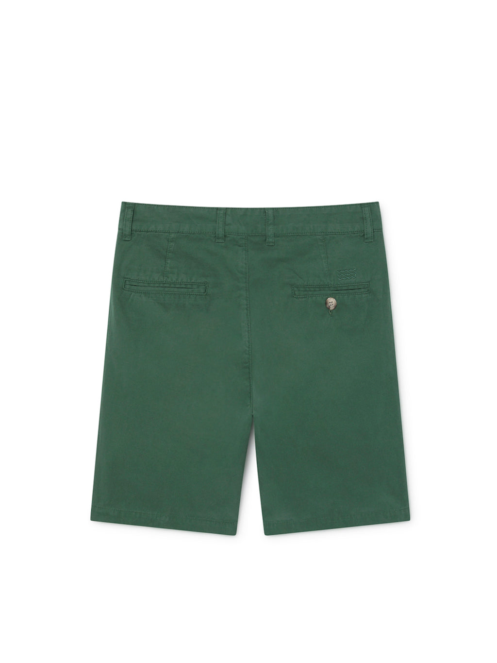 TWOTHIRDS Mens Shorts: La Nave - Trekking Green back