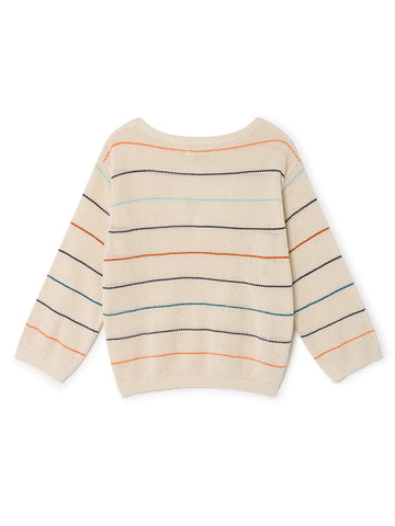 TWOTHIRDS Womens Knit: Las Gaviotas - Stripes back