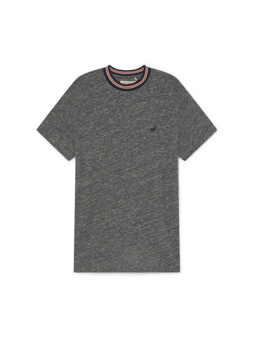 TWOTHIRDS Mens Tee: Level - Grey front