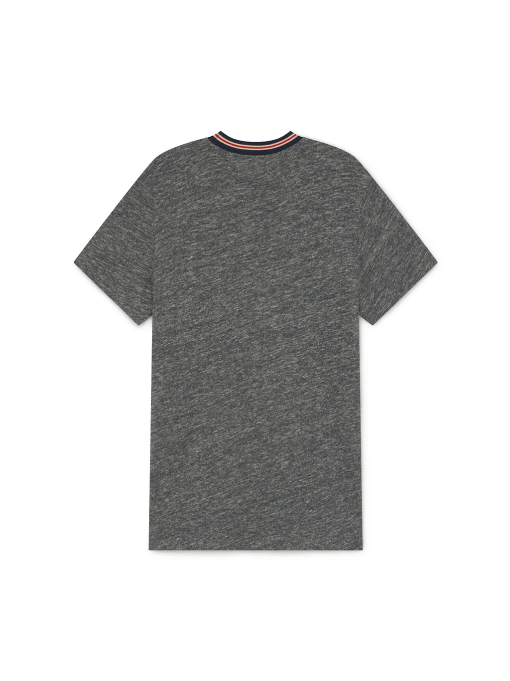 TWOTHIRDS Mens Tee: Level - Grey back