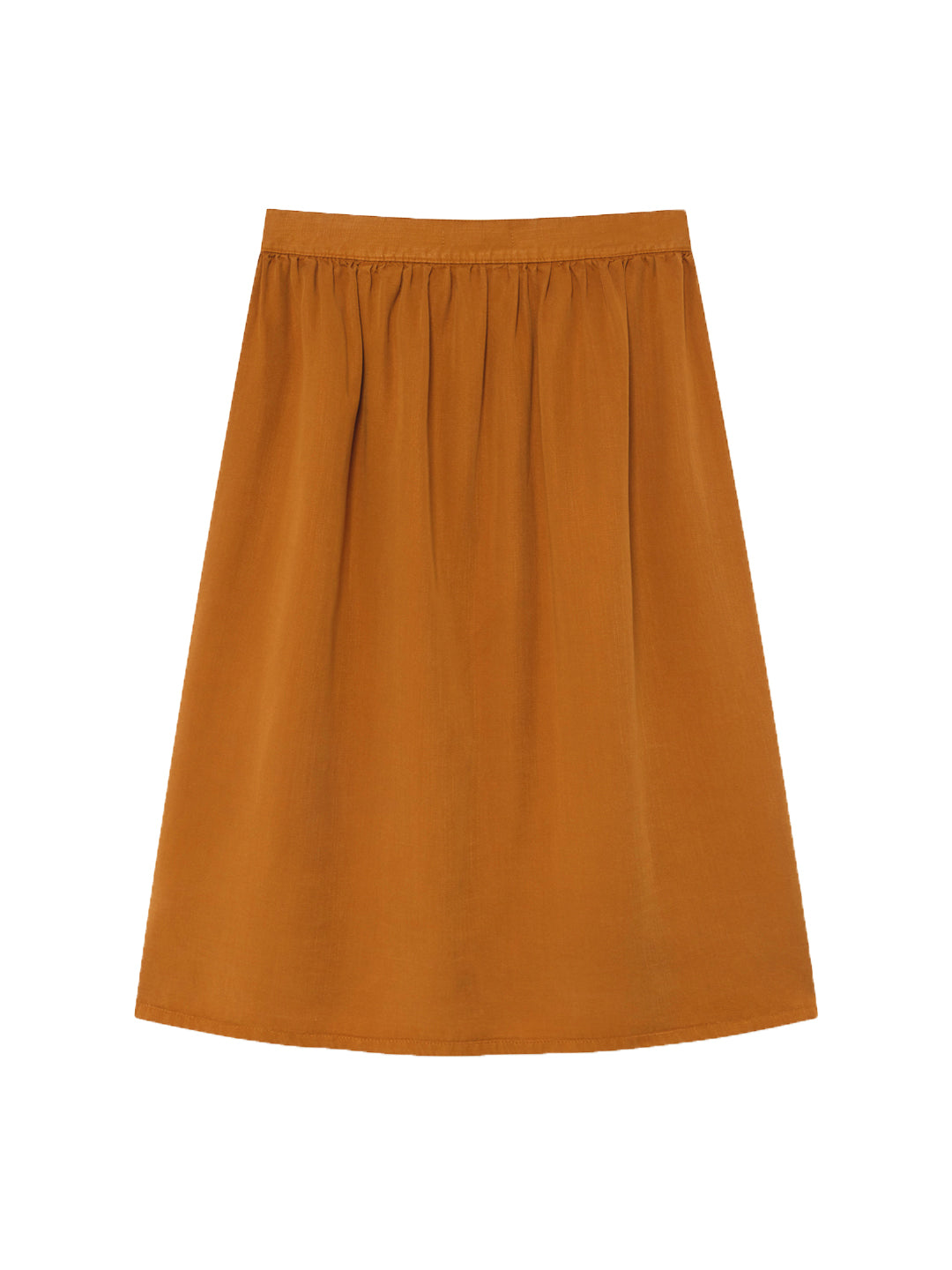 TWOTHIRDS Womens Skirt: Ma Wan - Dark Mustard back