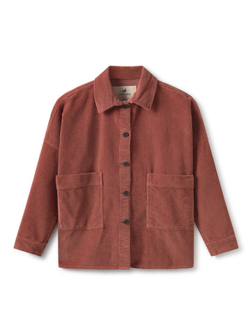 TWOTHIRDS Womens Jacket: Mactan - Dusty Pink front