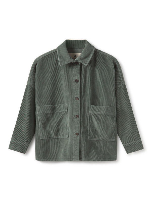 TWOTHIRDS Womens Jacket: Mactan - Washed Green front