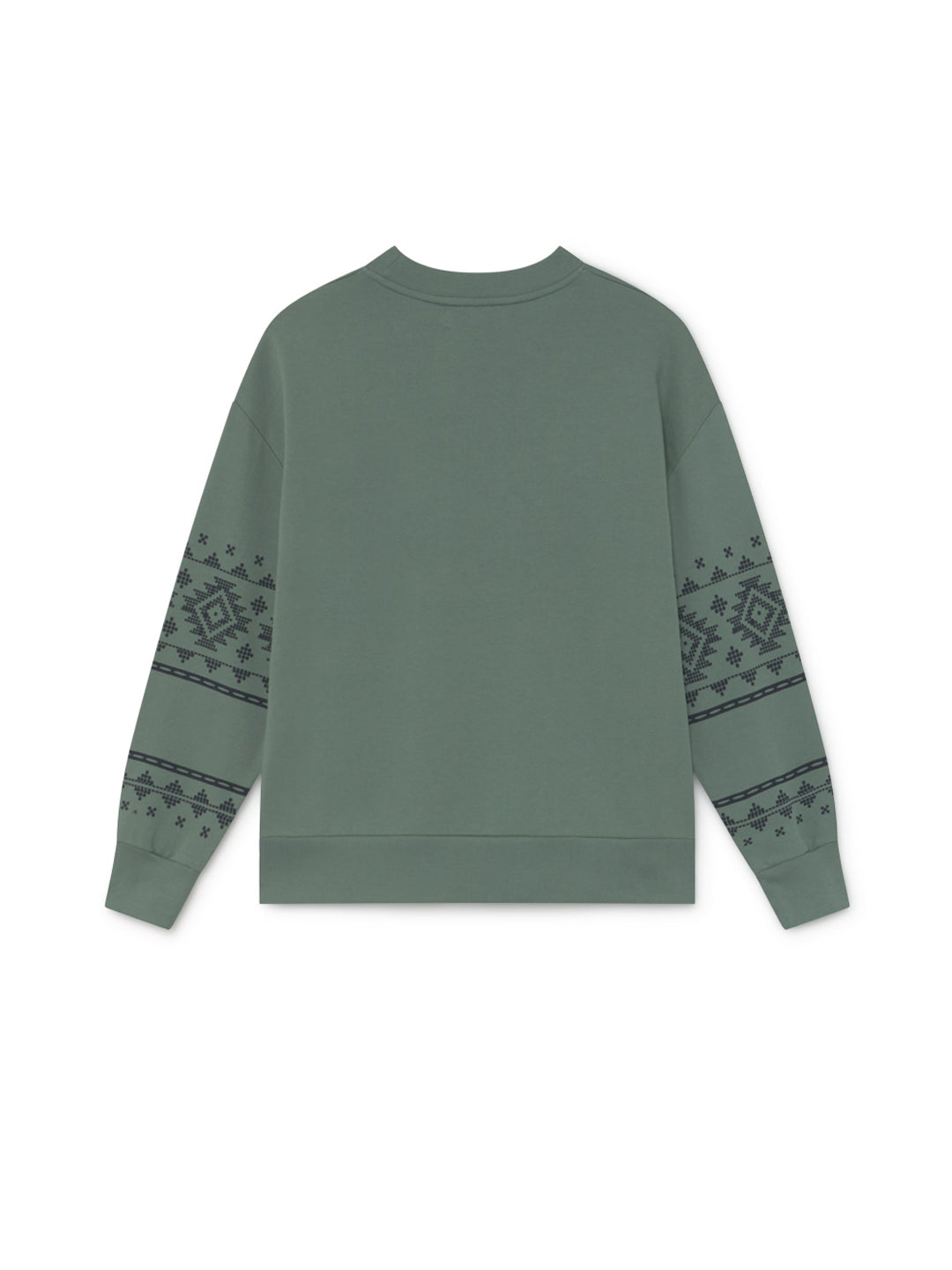 TWOTHIRDS Womens Sweat: Madeira - Washed Green back
