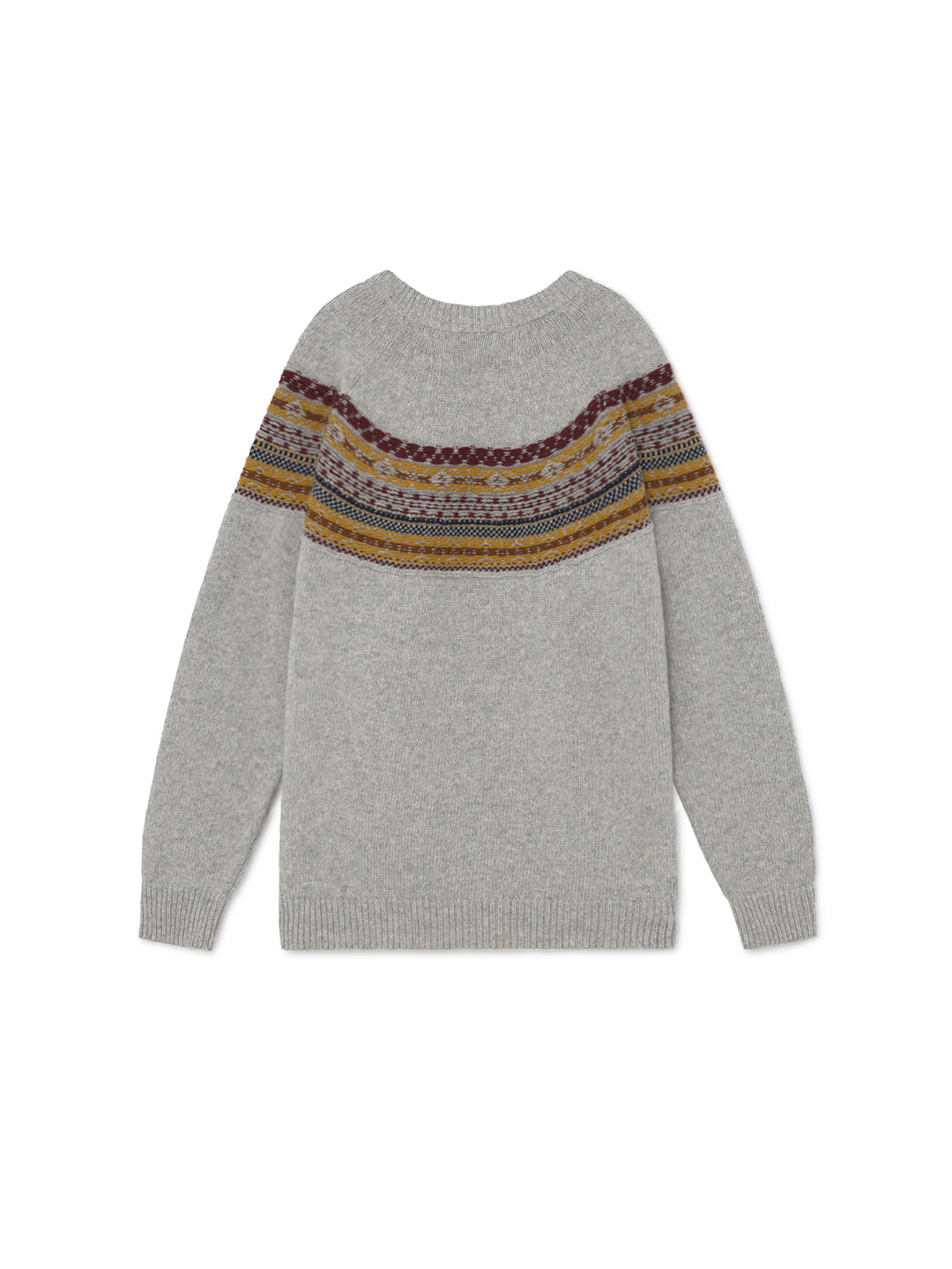 TWOTHIRDS Womens Knit: Mainland - Grey back
