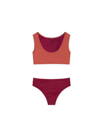 TWOTHIRDS Womens Swimwear: Mancera - Roof back