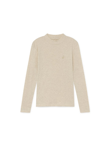 TWOTHIRDS Womens Top: Mantigue - Natural front
