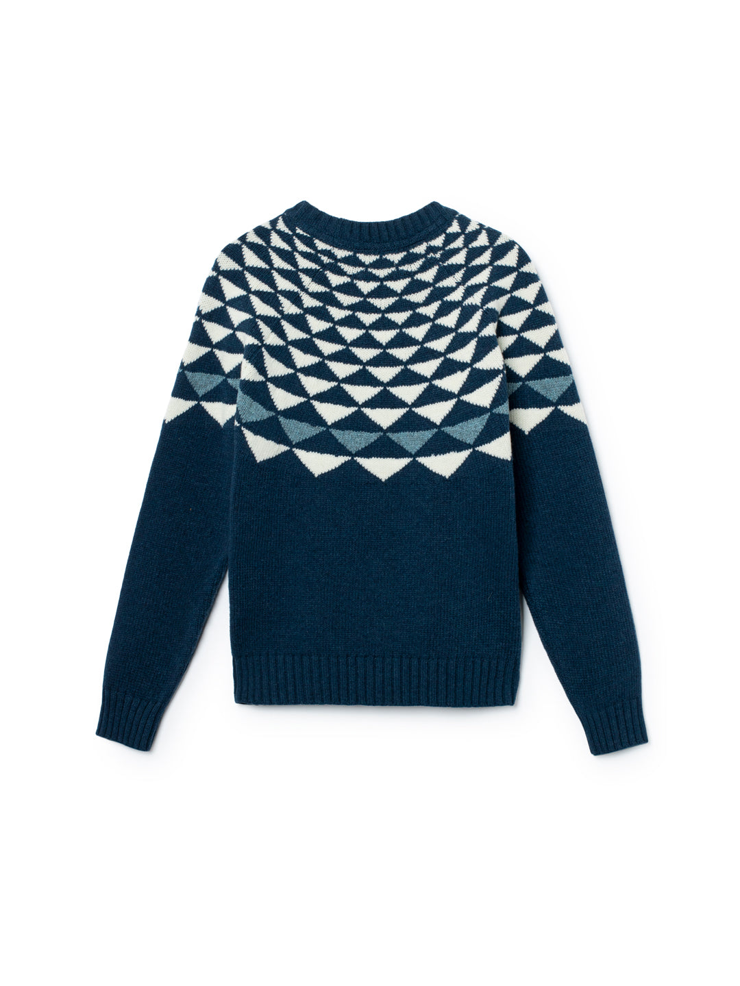 TWOTHIRDS Womens Knit: Mare Wool - Blue back