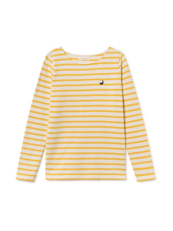TWOTHIRDS Womens Tee: Martinica - Lemon front
