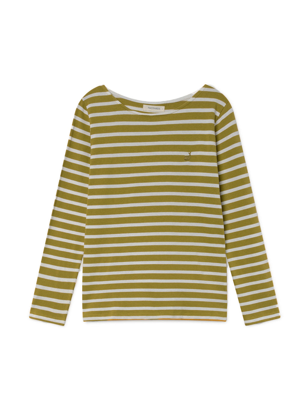 TWOTHIRDS Womens Tee: Martinica - Mustard front
