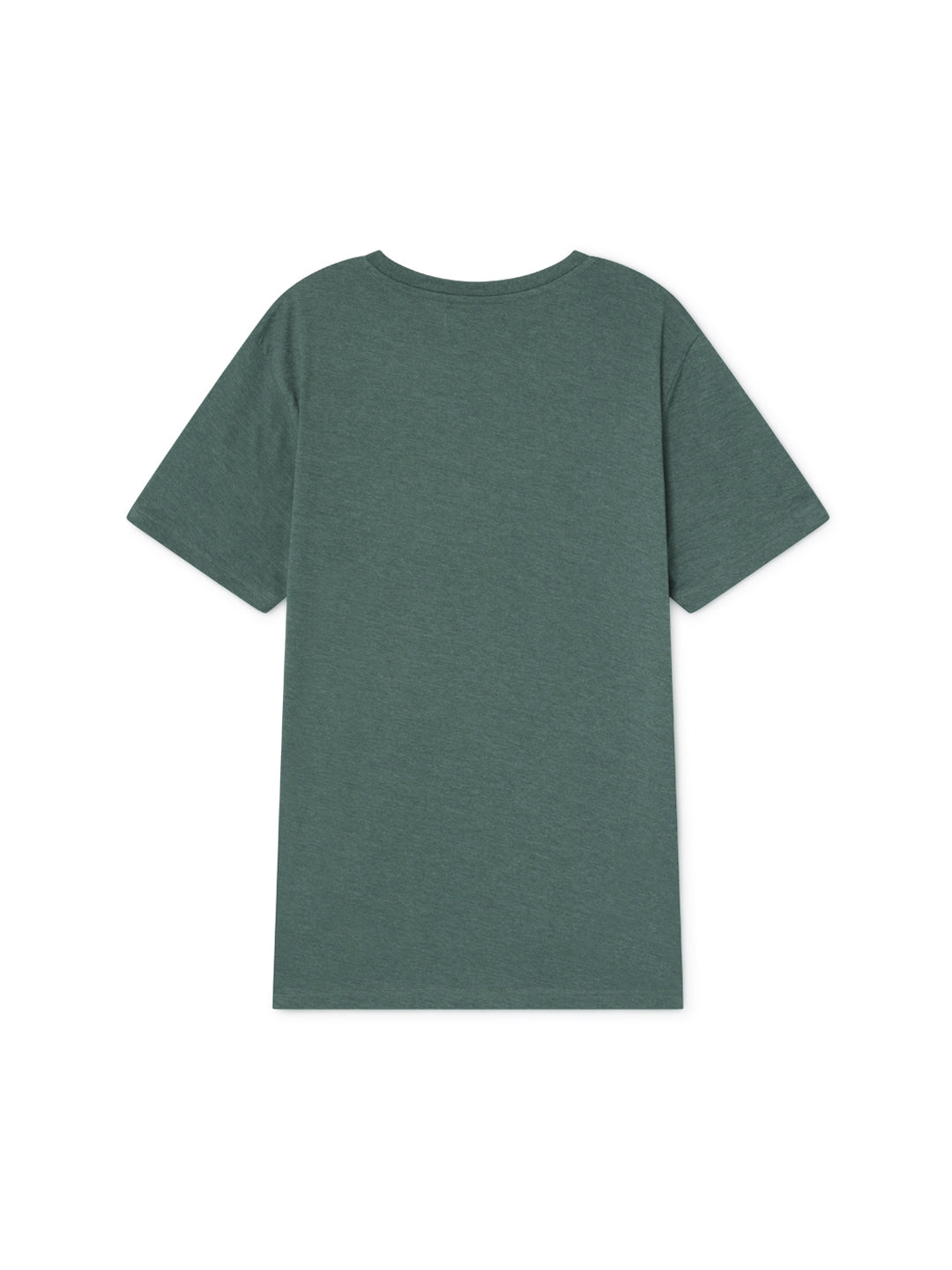 TWOTHIRDS Mens Tee: Mechuque - Deep Green back