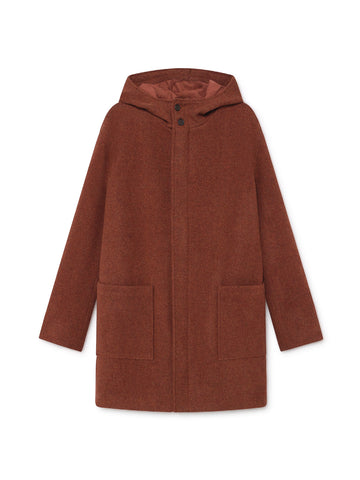 TWOTHIRDS Womens Jacket: Melchor - Red front