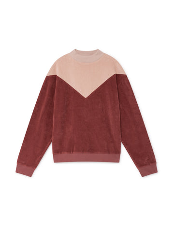 TWOTHIRDS Womens Sweat: Melide - Rose front