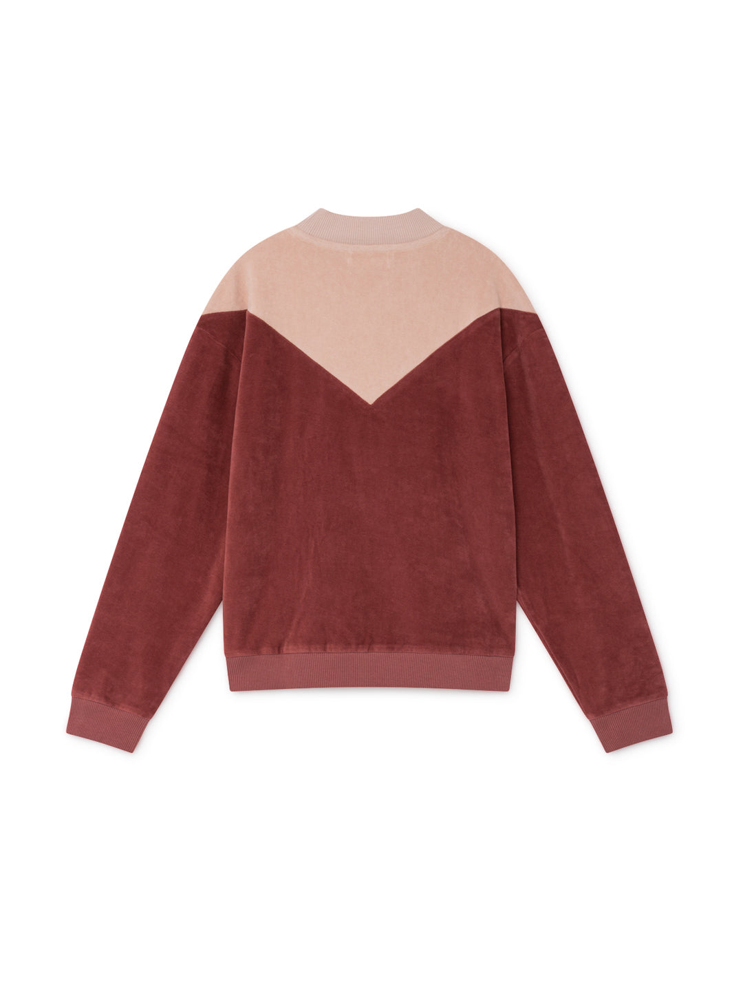 TWOTHIRDS Womens Sweat: Melide - Rose back