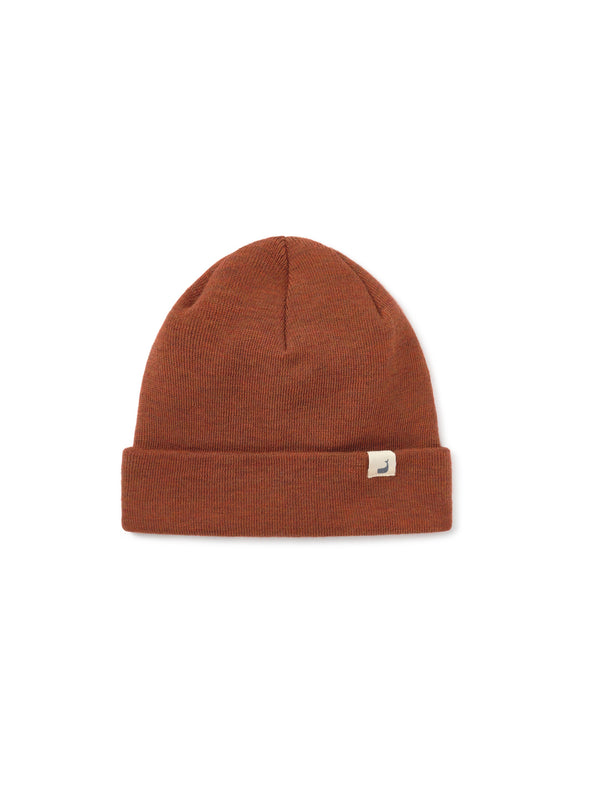 Merino Beanie Woman - Orange