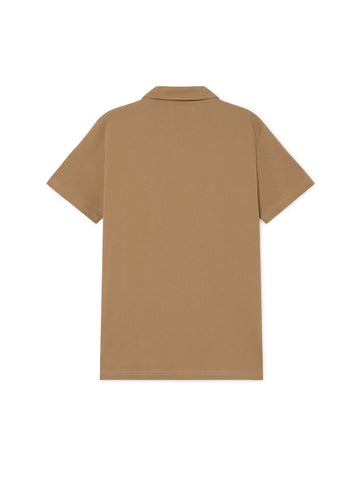TWOTHIRDS Mens Tee: Mikonos - Pecan back