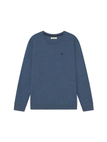 TWOTHIRDS Mens Sweat: Moyo - Blue front