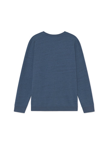 TWOTHIRDS Mens Sweat: Moyo - Blue back