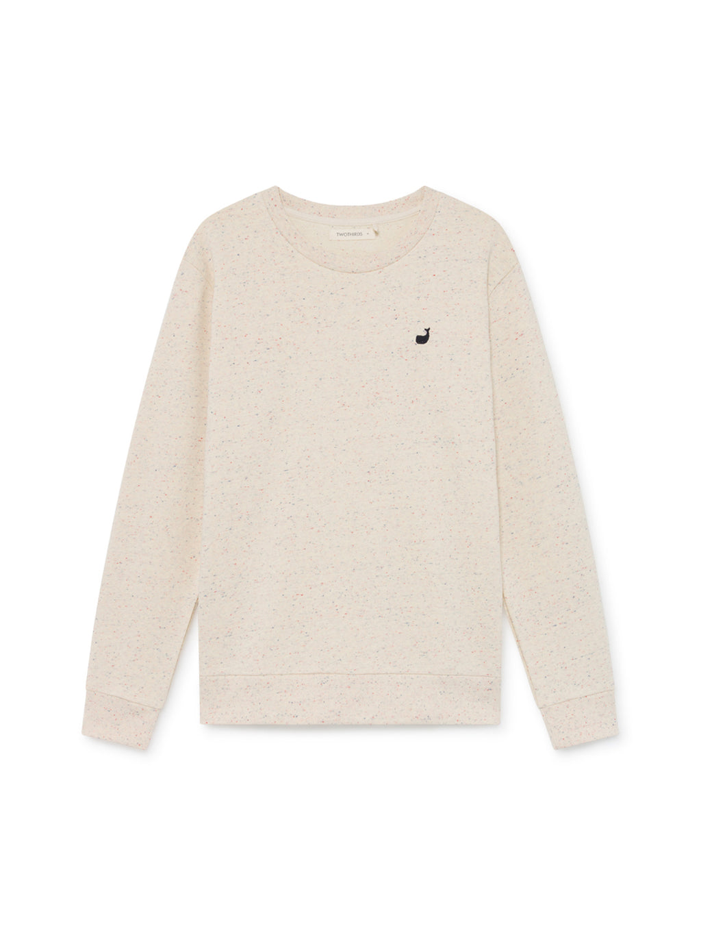 TWOTHIRDS Mens Sweat: Navarino - Ecrue front