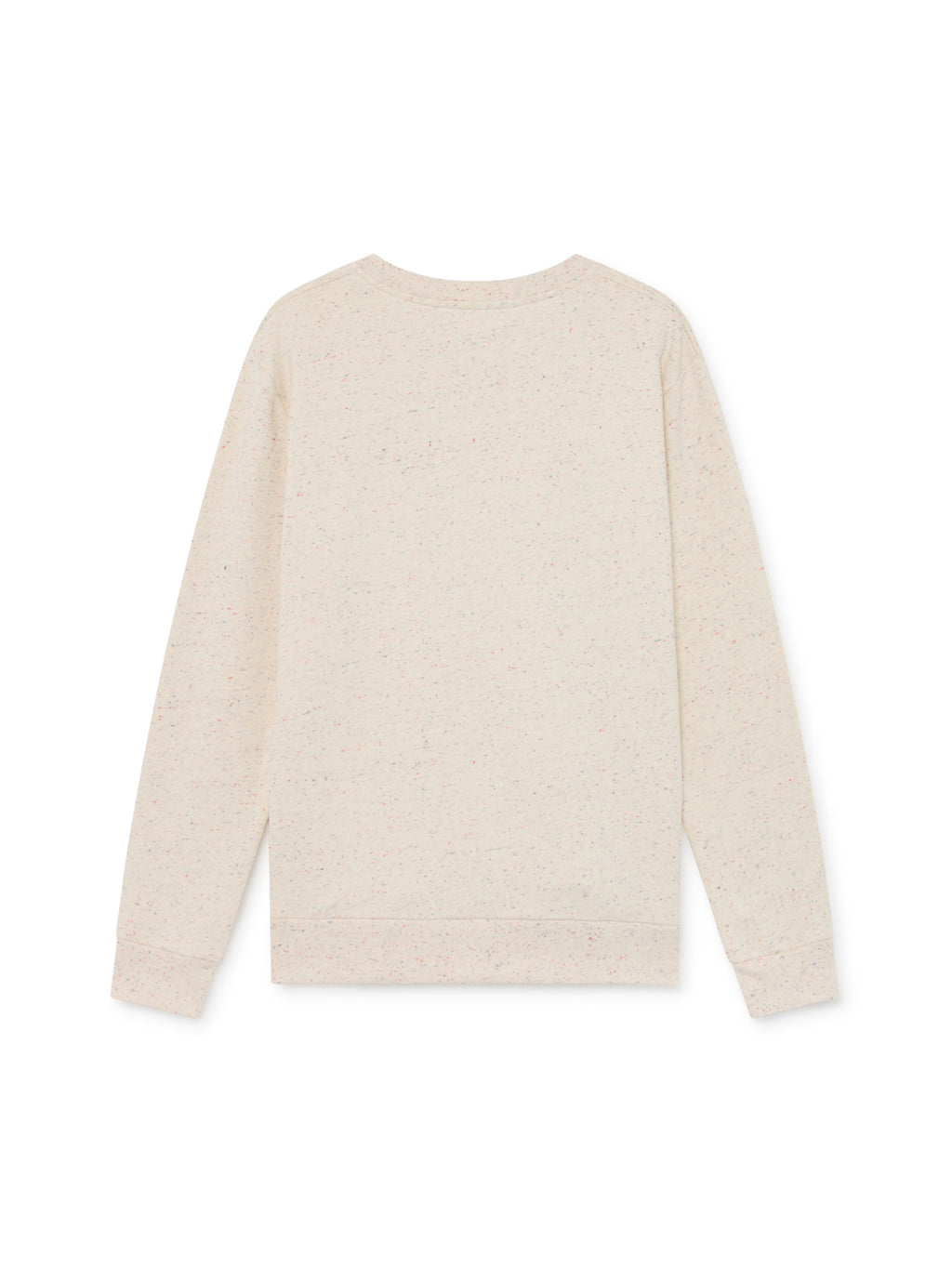 TWOTHIRDS Mens Sweat: Navarino - Ecrue back