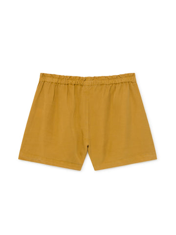 TWOTHIRDS Womens Shorts: Nero - Mustard back
