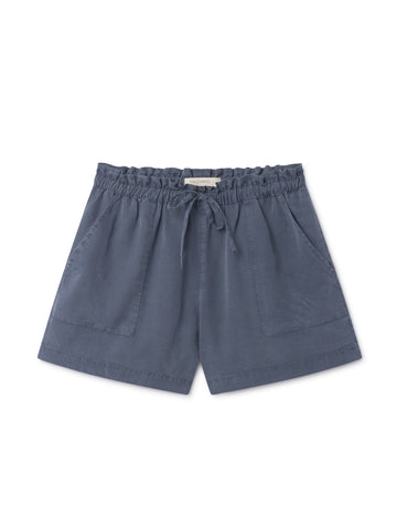 TWOTHIRDS Womens Shorts: Nero - Blue front