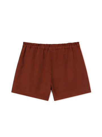 TWOTHIRDS Womens Shorts: Nero - Roof back