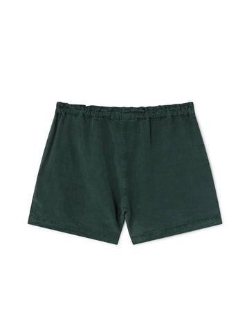 TWOTHIRDS Womens Shorts: Nero - Trekking Green back
