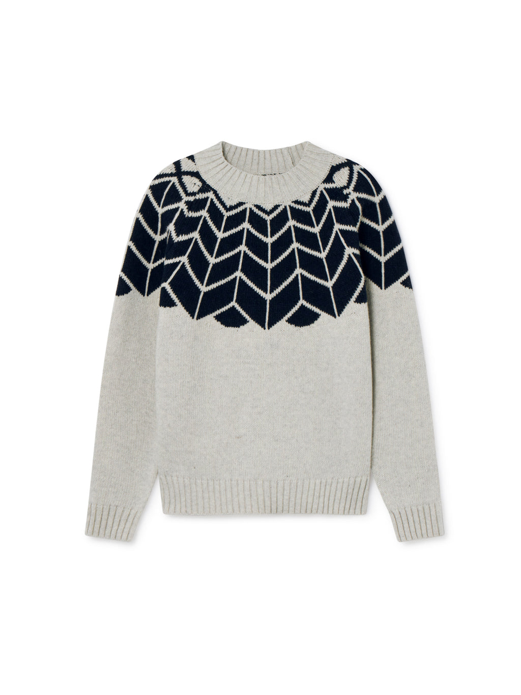 TWOTHIRDS Womens Knit: Noro - Navy front