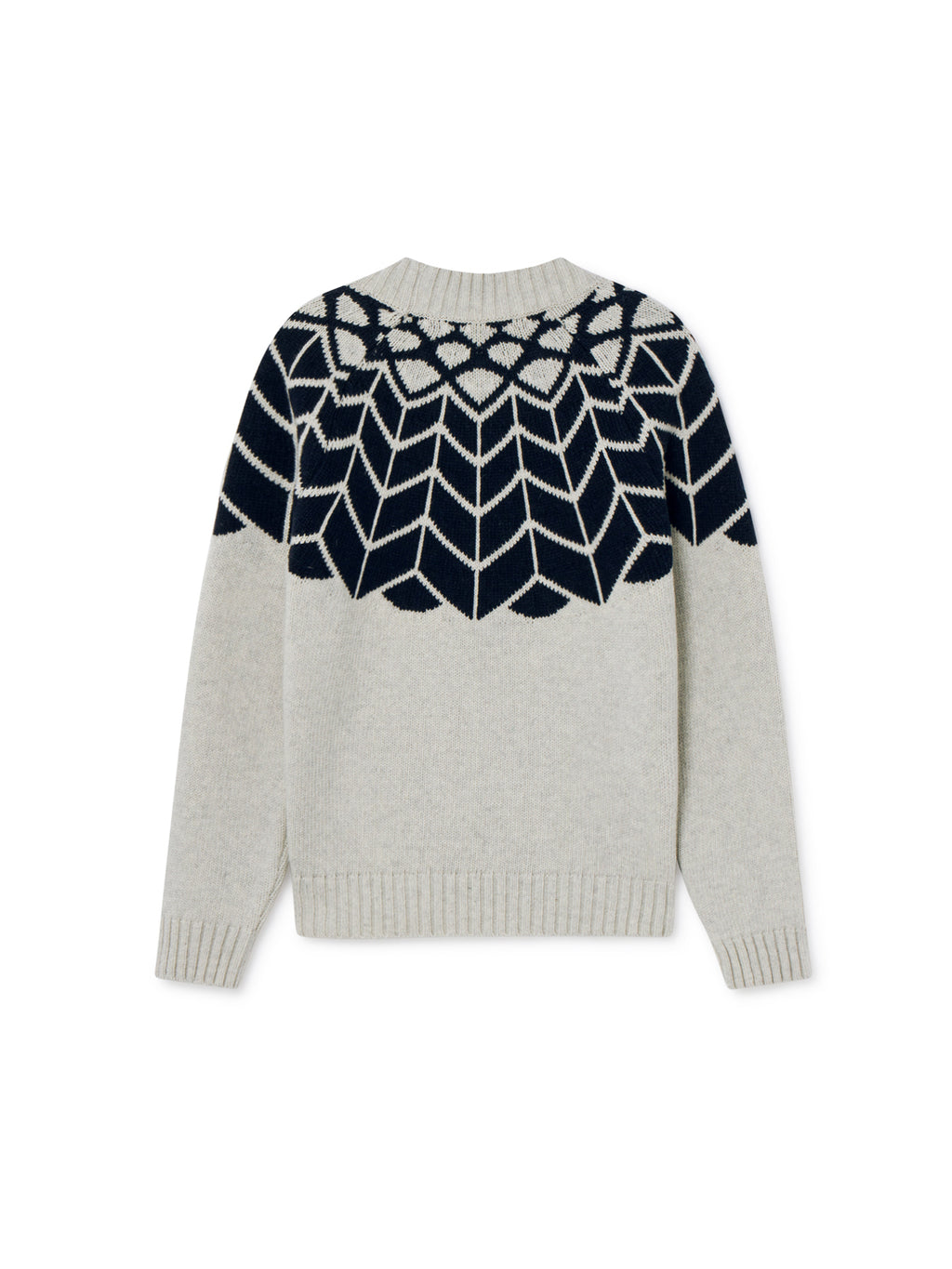 TWOTHIRDS Womens Knit: Noro - Navy back